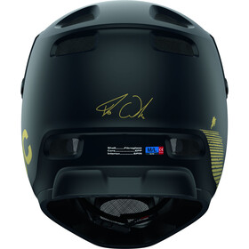 POC Coron Air SPIN Fabio Edition Helmet, uranium black matt/gold